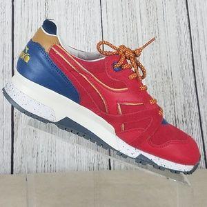 Diadora N9000 Ubiq Men's Red Ribbon Shoes Sz 7.5